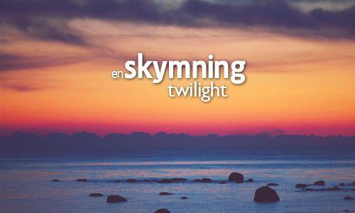 skymning