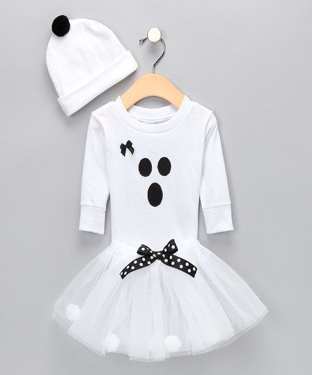 Cutie Pa Tutus White Ghost Costume - Infant, Toddler & Girls | zulily