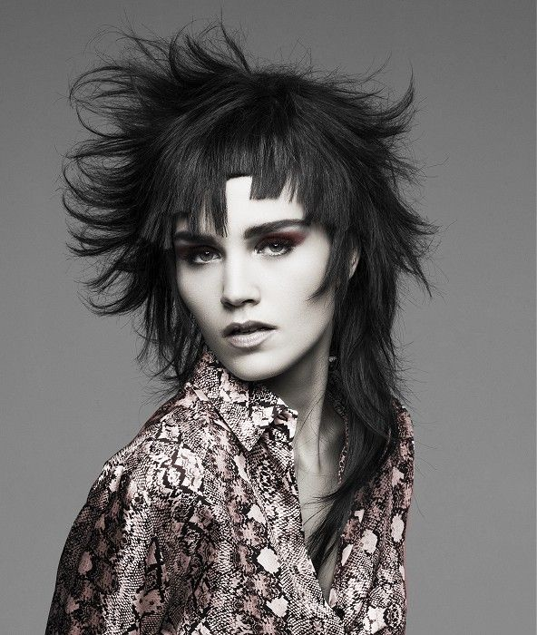 Terrific 1000 Ideas About Funky Long Hairstyles On Pinterest Crimping Hairstyles For Women Draintrainus