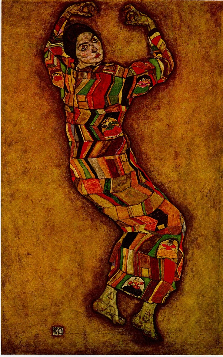 Portrait of Friederike Maria Beer, 1914, Egon Schiele