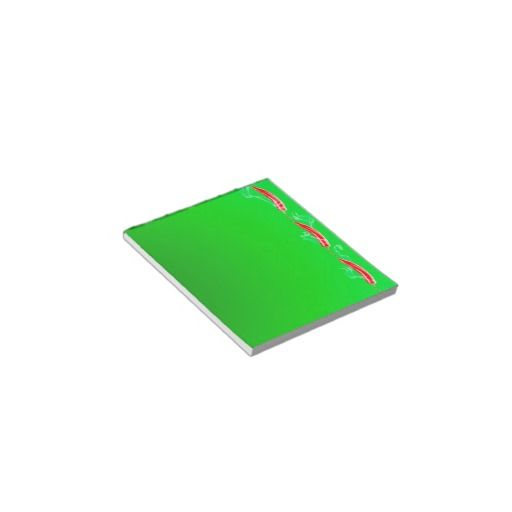 Spicy Memo Notepad from Zazzle.com