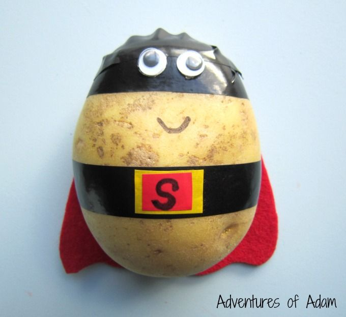 Easy to make Supertato