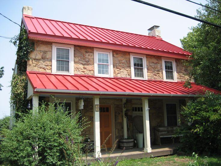Best Drexel Metals Brilliance Red Metal Roof Metal Roofs 400 x 300