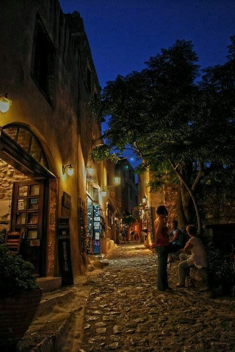 Monemvasia in Peloponnese