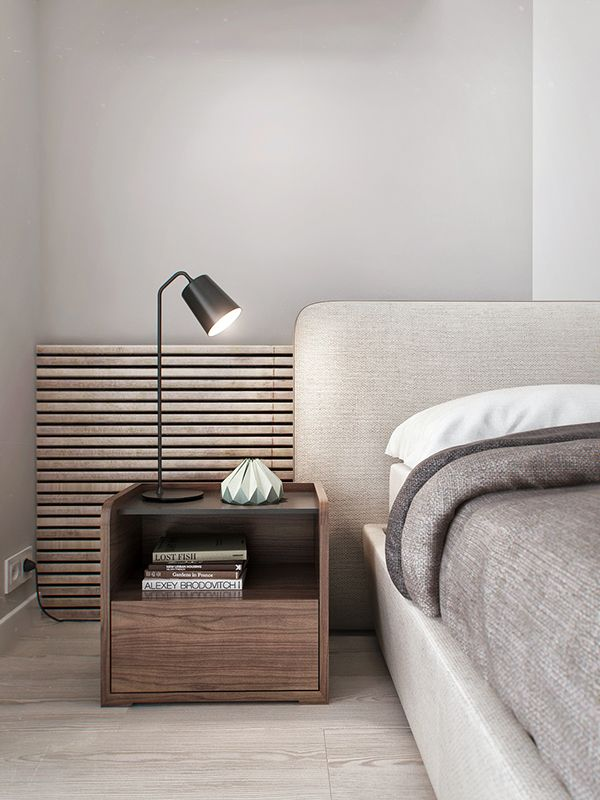 Bedside Table - I like the wood style and shape of the bedside table but preferably in a black wood colour
