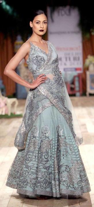Delhi Couture Week 2011 - Suneet Verma's #indianwedding