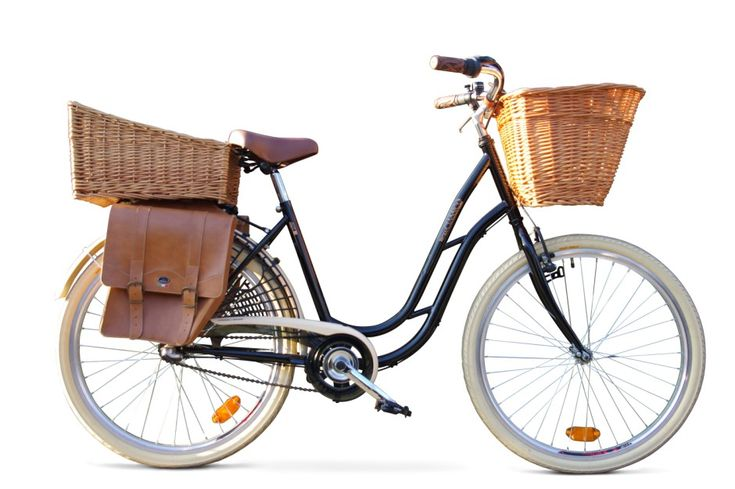Dutch Bike & Accessories ...I could do grocery errands and use a dog basket in front for Sophie...Love these!
