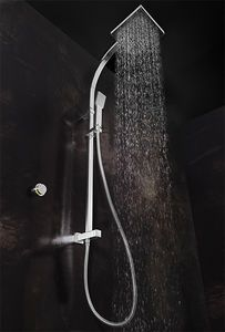 crosswater solo digital showers > digital shower, rigid riser & square head. £483 with free delivery - taps4less.com