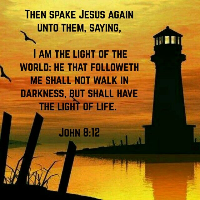 Image result for jesus the light of the world kjv