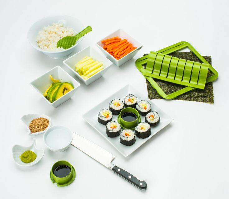 sushiquik sushi making kit fun easy sushi. Black Bedroom Furniture Sets. Home Design Ideas
