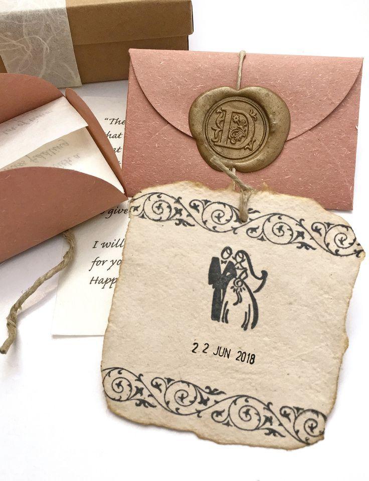 Hochzeitsgeschenk für den ehemann