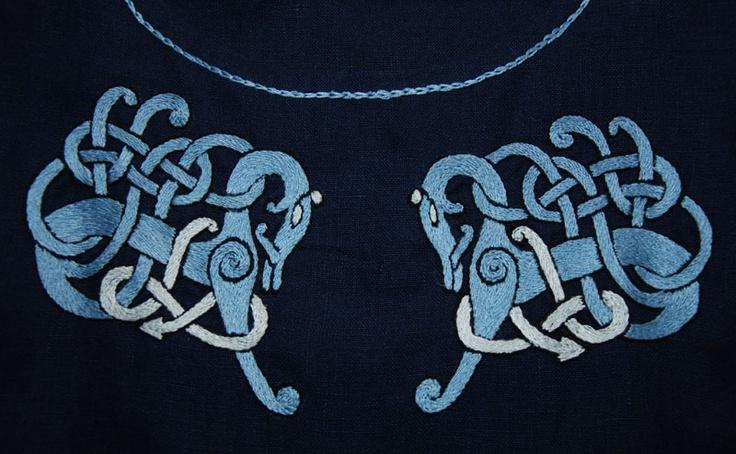 Tunic embroidery by Othala Craft.