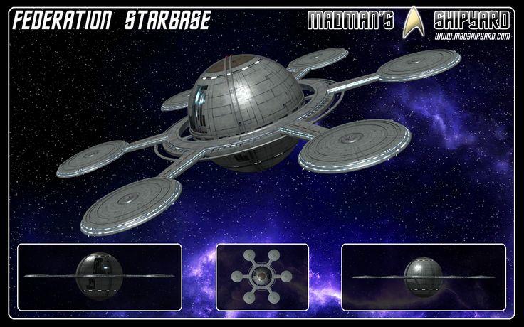 Star Trek   ... starbase as seen in orbit above earth in the new star trek movie i