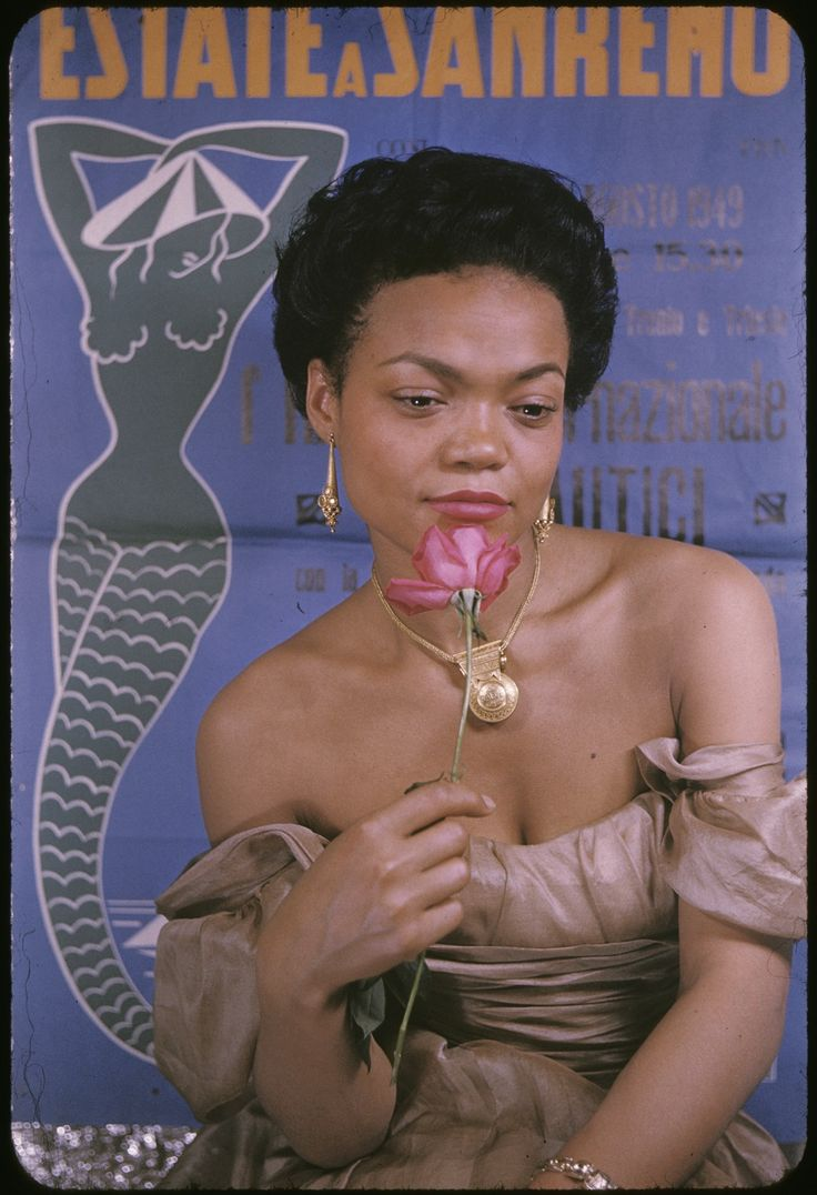 Eartha Kitt by Carl Van Vetchen, October 1954