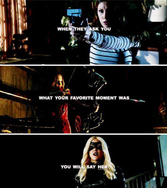 Dinah Laurel Lance...The Black Canary!