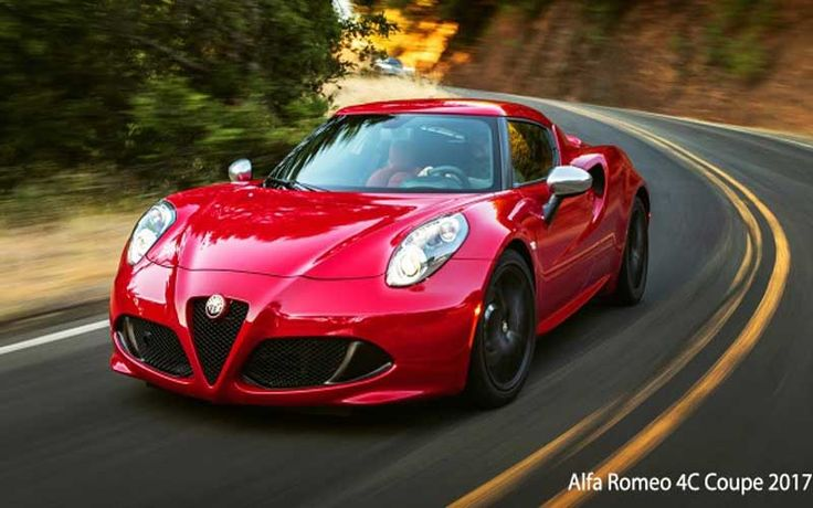 Alfa Romeo 4C Coupe 2017 Price, Specs & features - fairwheels.com