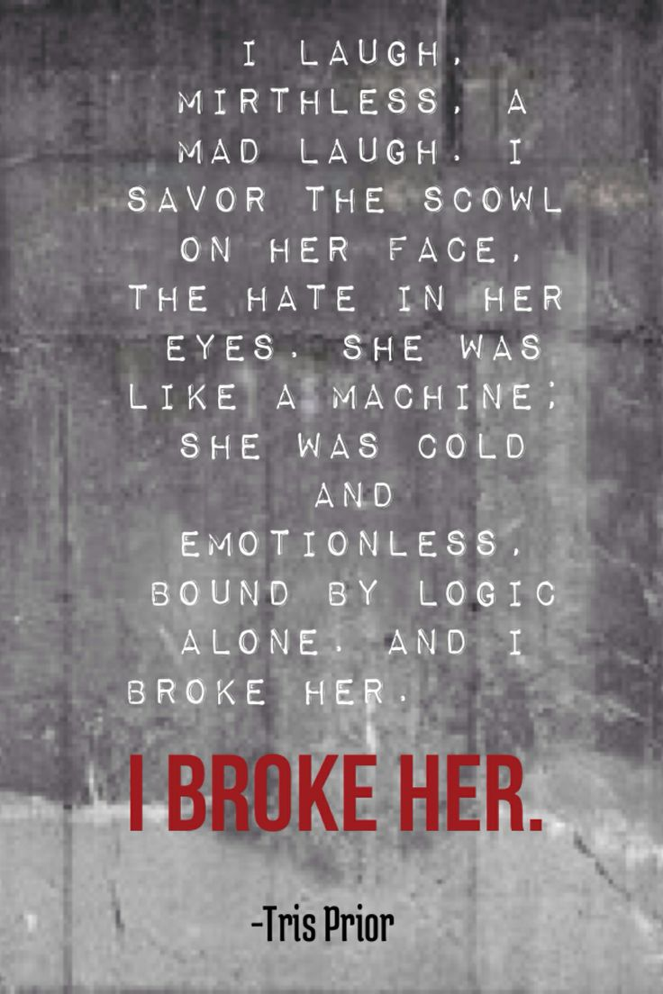 Insurgent quote by Veronica Roth, from the Divergent series.