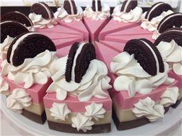 Cake Slices - Neapolitan Soap Cake Slice