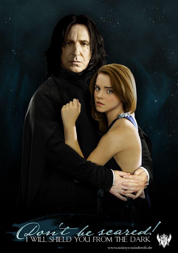 Mrs. Snape   Severus snape, Snape and hermione, Snape