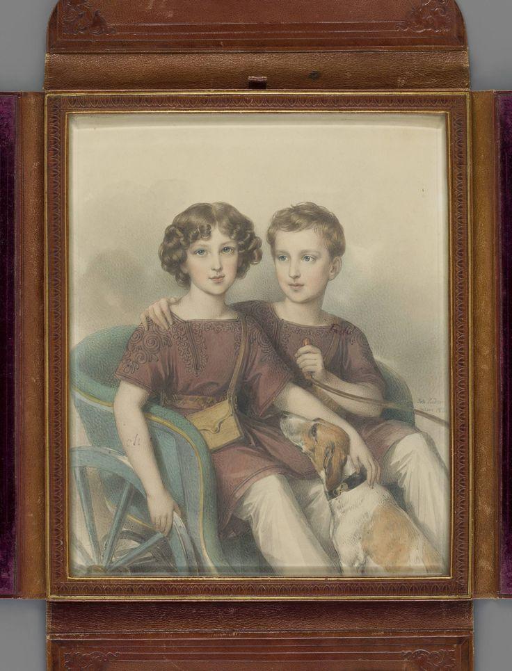 Альфред Юзеф Потоцкий (1817 - 1889) и Адам Юзеф Матеуш Потоцкий (1822 - 1872). Двоюродные братья, внуки писателя Яна Потоцкого.