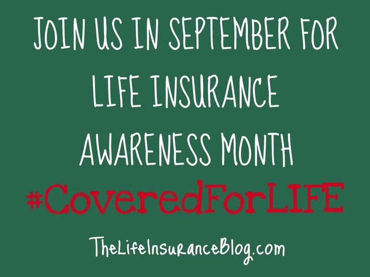 awareness about life insurance general It may be hard to think about what your family would do if something were to happen to you, but it's important and necessary to consider life insurance to take care of their needs and, what better time than this month, which just happens to be life insurance awareness month.