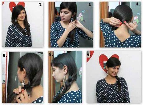 Einfach zu Frisuren für Mittlere Haare zu Hause zu tun   – www.tophaarmodelle.com