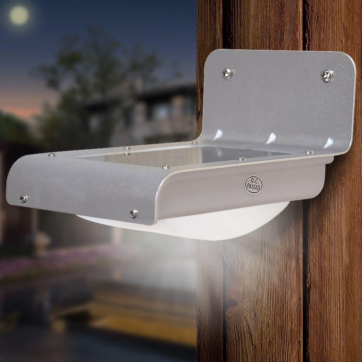 Alibaba グループ | AliExpress.comの 壁ランプ からの 中の 新しい led耐水屋外照明ランプ/ソーラー ウォールライトレイ/サウンド センサー省エネ ガーデン パス庭led ip65