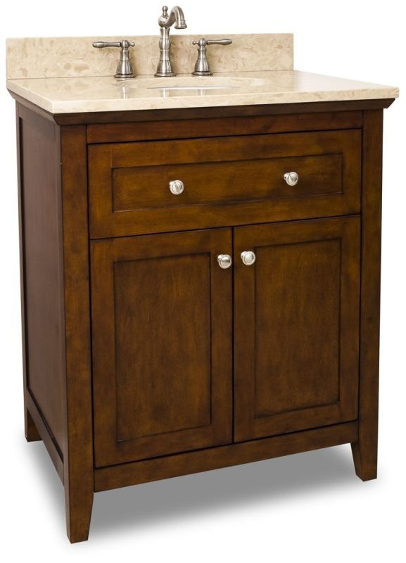 Photo Album For Website Jeffrey Alexander VAN T Catham Shaker Collection Inch Bathroom Vanity Chocolate