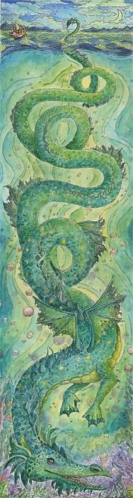 Stormy Seas, Christy Babrick, SciFi Fantasy Art