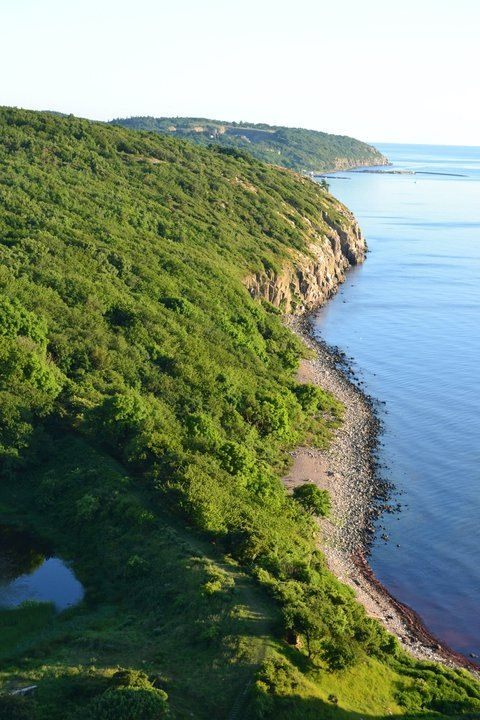 A beautiful view from Bornholm