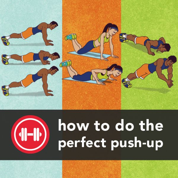 How to Do the Perfect Push-up--Push-ups are a total-body functional move that are great for increasing strength, much like bench-pressing, and have the added benefit of engaging the core and lower body (thanks, gravity!). The bodyweight exercise can be done just about anywhere — with a ton of variations to liven things up. So let's drop down and do the perfect push-up.