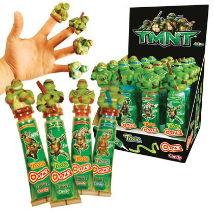 Retail Candy  Everyday Candy  56200 Teenage Mutant Ninja Turtles Ooze Candy with Finger Puppets
