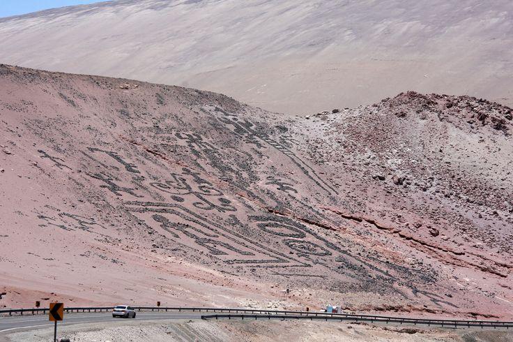 Petroglifos en  Arica, Chile