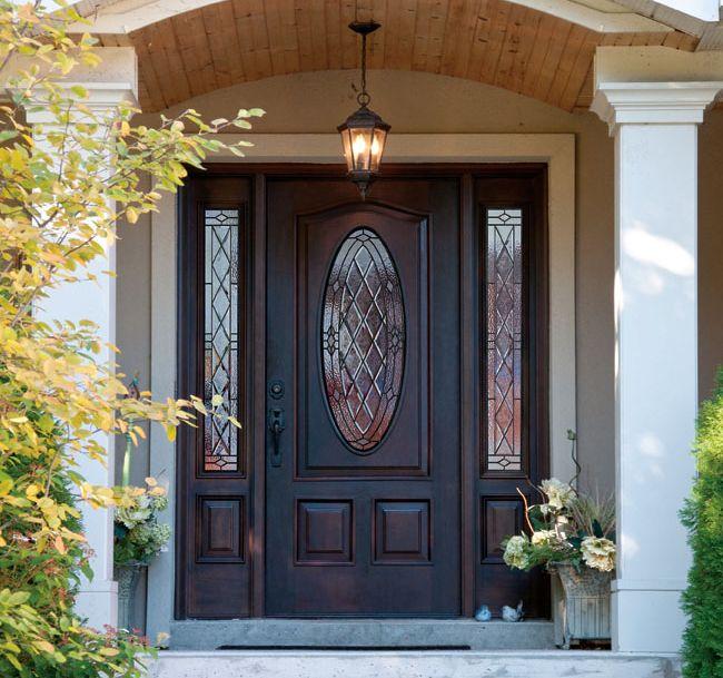» Canterbury Trimlite Decorative Door Glass, French Doors, Wood Entry Doors, Shaker Panel Doors