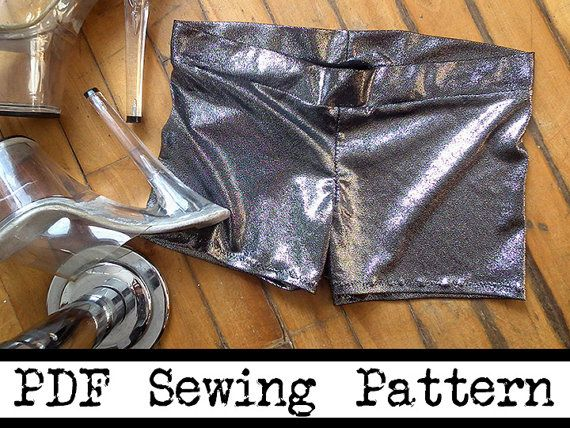 Pole Dancing Shorts PDF Sewing Pattern Competition by EvaPal