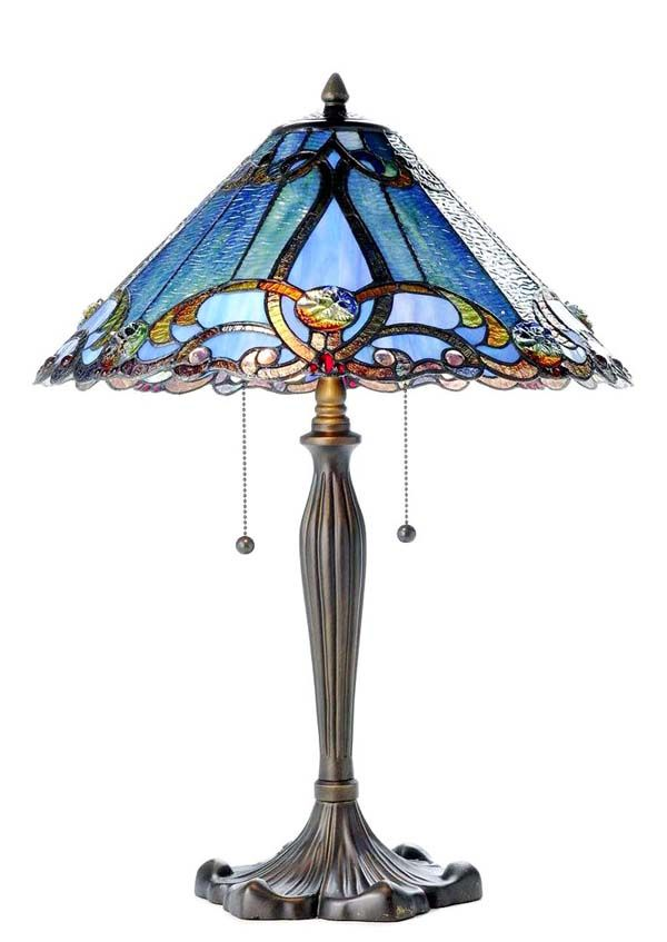 Image detail for -Our Art Nouveau Stained Glass Tiffany Style Table Lamp ON SALE NOW