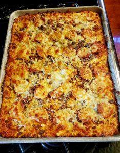 Rhonda's Zero Carb Pizza
