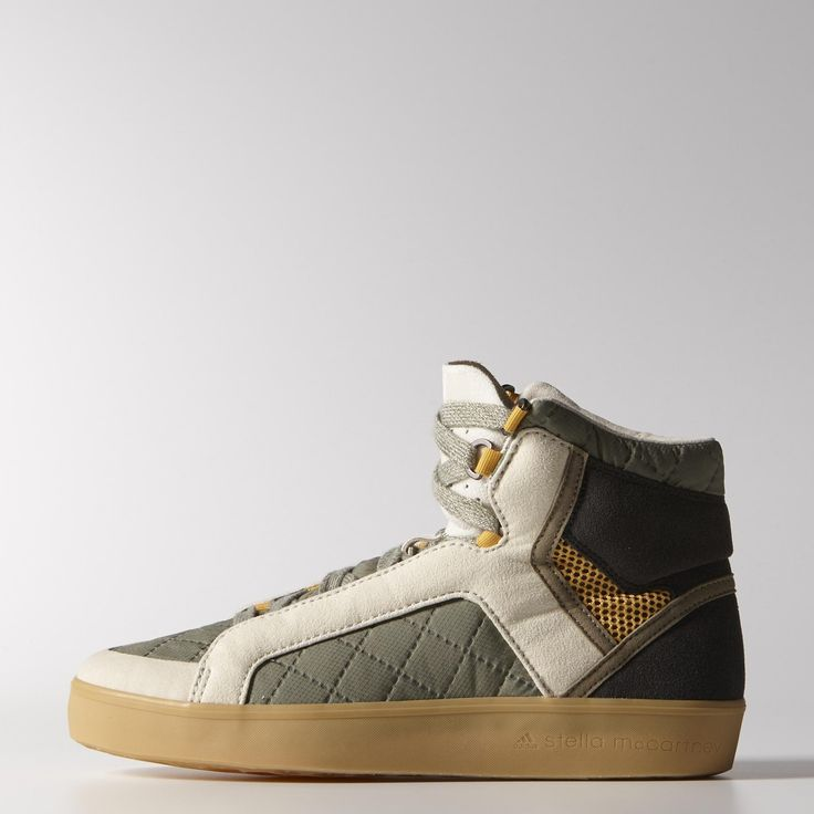 The adidas by Stella McCartney Discosura Hiker Shoes walk city streets in a  stylish quilted upper with metal grommet details. They're lined for extra  warmth ...