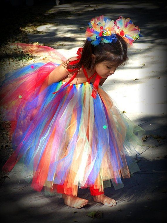 Custom Birthday Boutique RaiNbOw BaBy Tutu Halter Dress and Hair bow Puff clippies 3 piece Set 12 2t 3t 4t 5t Photo prop