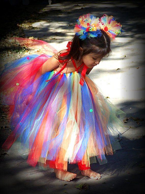 rainbow tutu | Costumes | Pinterest | Birthdays, Rainbow ... - photo #41