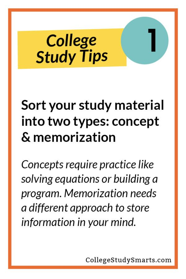 Study Faster And Retain More With This Quick Tip College Study Smarts How To Memorize Things Study Smarter College Study
