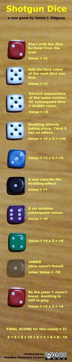 How to play Shotgun Dice #homemadegames #dicegames #games #dice