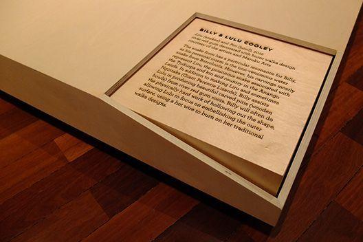 wood exhibition: