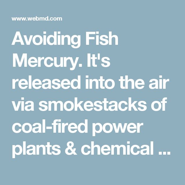 25 best ideas about mercury in fish on pinterest fresh for What fish has the most mercury