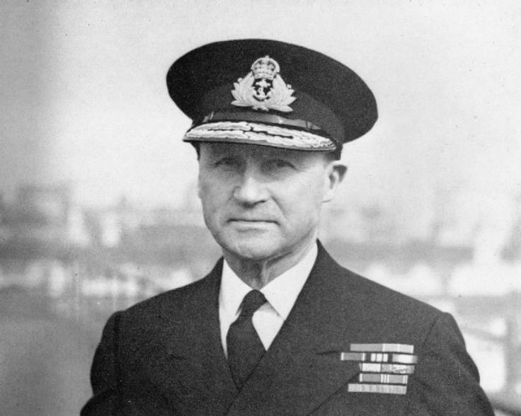 The Forgotten Architect of Dunkirk and D-Day Symposium - Photograph: Admiral Sir Bertram Ramsay taken at his London Headquarters in October 1943. © IWM (A 23440) small