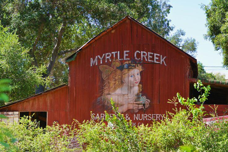Myrtle Creek Botanical Gardens Featuring Bird Sanctuaries Hummingbird And Butterfly Areas