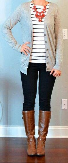 Cute! That cardigan would go well with a lot of stuff