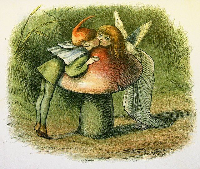 Richard Doyle watercolor (engraved and printed by Edmund Evans) for In Fairyland.