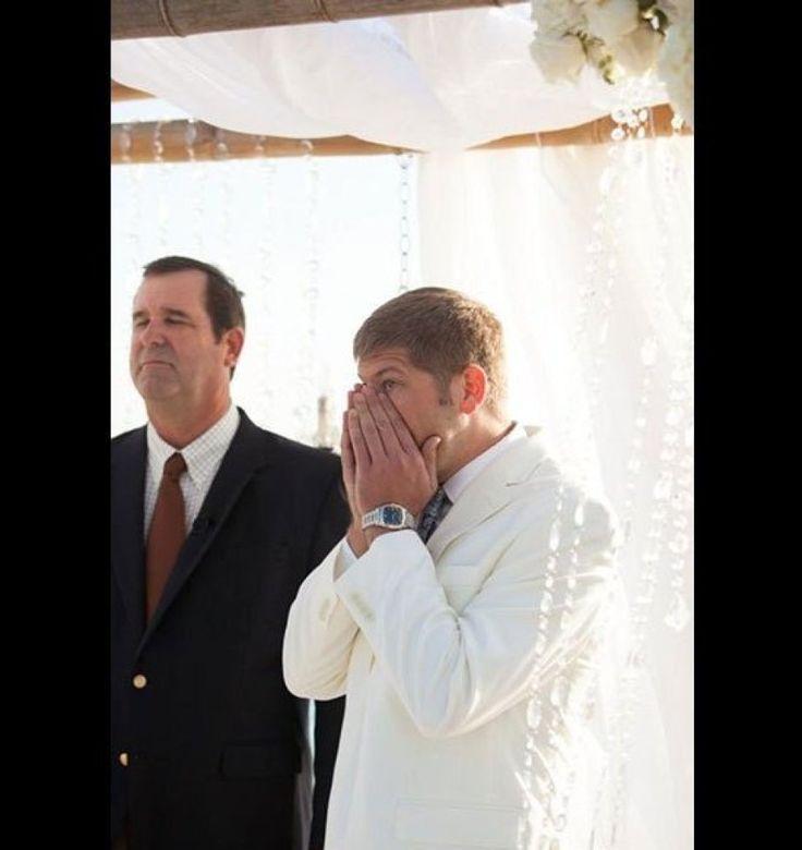 Grooms' Reaction to Seeing Their Brides - GodVine