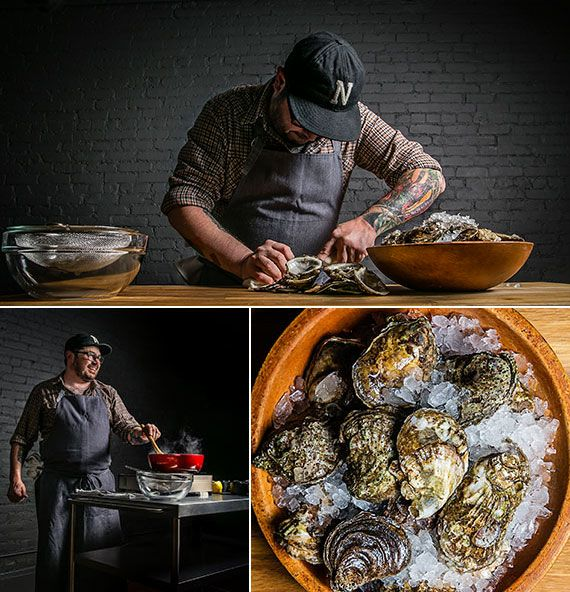 Husk Chef Sean Brock Makes Lowcountry Oyster Stew | Tasting Table // Author of HERITAGE